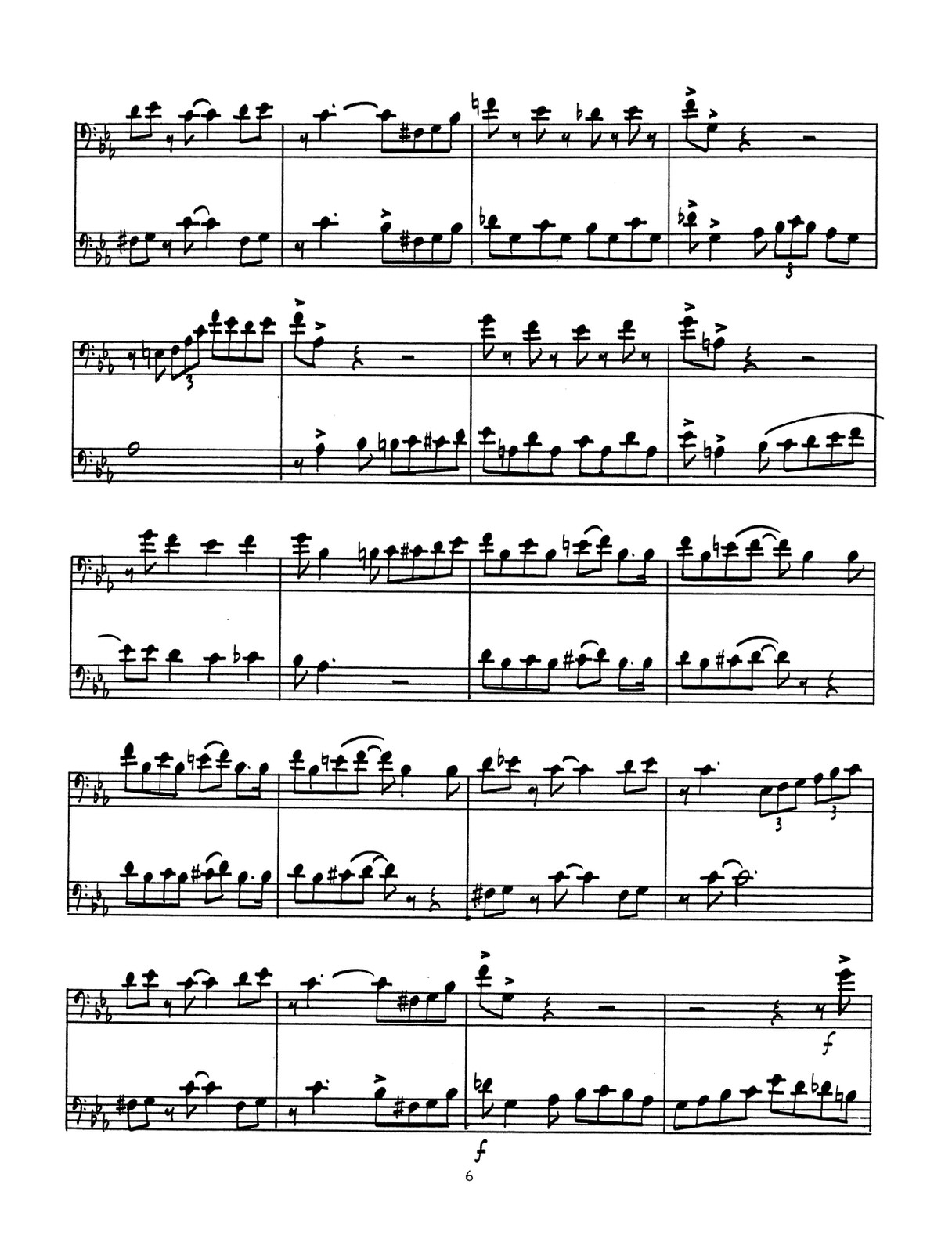 bop duets bass clef