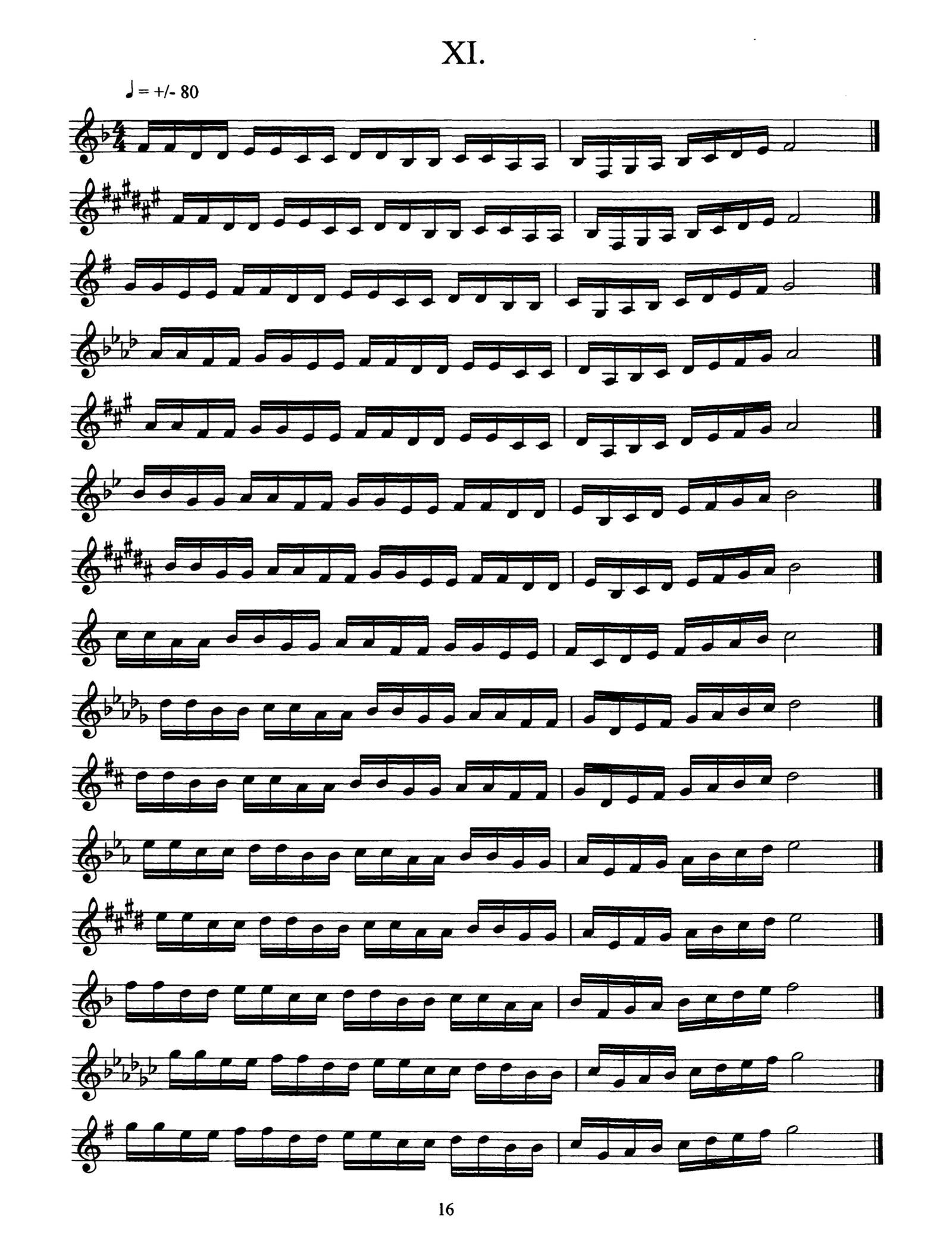15 Studies for Piccolo Trumpet