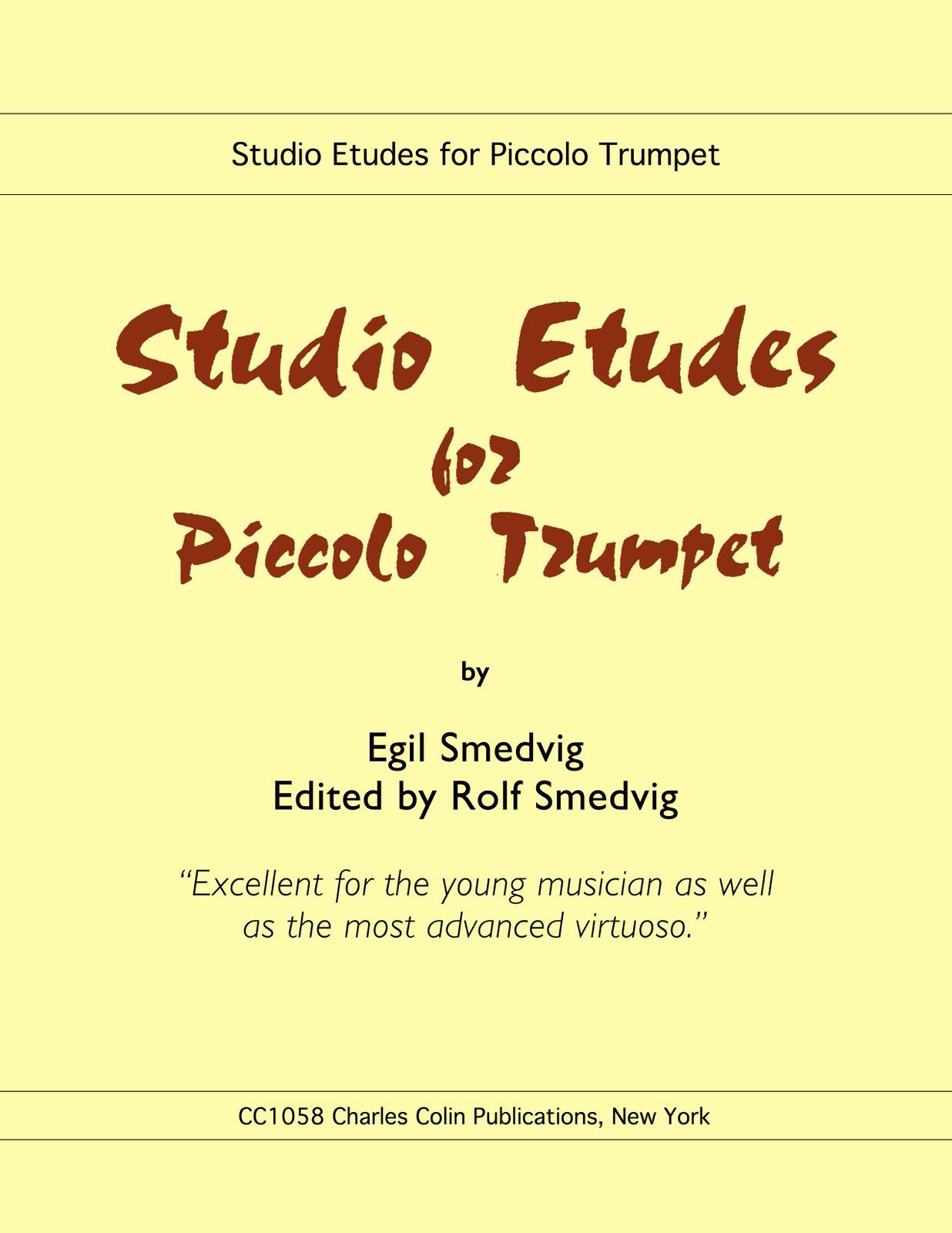 Studio Etudes for Piccolo Trumpet – Charles Colin Music